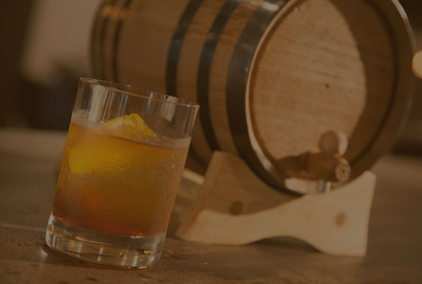 Barrel Aging Our Spirits